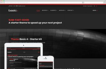 Responsives Contao Theme und Template Basic 4